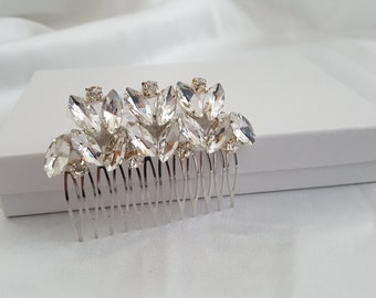 Bridal Hair Comb, Crystal Hair Comb, Wedding Hair Accessories, Vintage Inspired Bridal Hair Comb, Bridal Hair Accessories