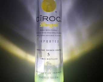 Ciroc vodka LED dusk to dawn night light.