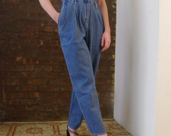 90'S DENIM JUMPSUIT Sz S-M