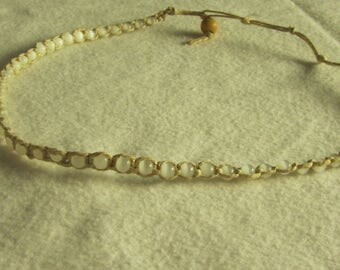 Hemp Beaded Necklace