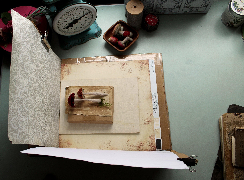 Vintage Handmade light box