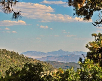 Signal Peak View in the Gila National Forest in New Mexico Wilderness Landscape Mountains Wild Travel