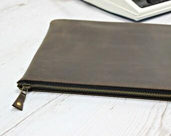 MacBook Air sleeve/MacBook Pro case/leather sleeve/leather case/laptop sleeve/laptop case/11 laptop sleeve/MacBook clutch/MacBook cover