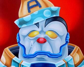 Sad Apocalypse Clown (print)