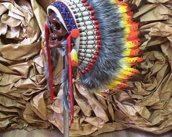 Indian headdress - Fire Bird