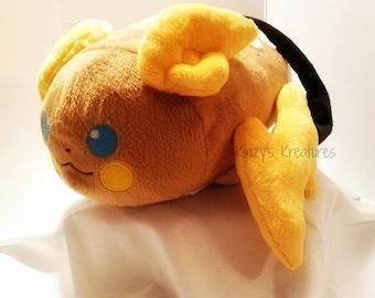 Made to Order - Raichu Inspired Loaf Plush - Pokemon Loaf Plush