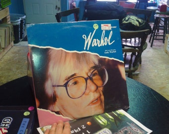 Andy Warhol Laser Disk SEALED