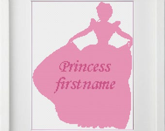 cross stitch Princess Disney, instant download, PDF pattern, buy one get one free, REF 143/PRINCESS