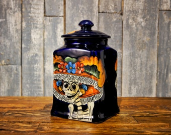 Day Of The Dead Urn Etsy
