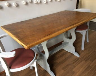 Refinished vintage 1960's Priory table