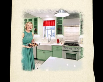 Classic Kitchen - Avocado Green Flour Sack Towel
