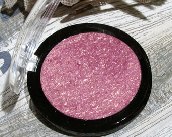 Rose Gold highlighter, Natural Mineral Pigment, 36mm with Compact