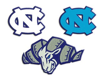 Tar Heels embroidery design - Machine embroidery design