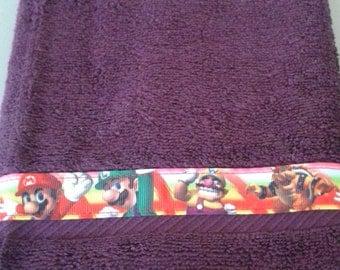 Super Mario Brothers Towel