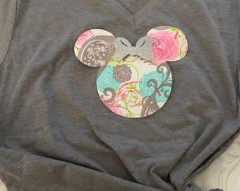 Minnie Mouse Pocket Tee-Minnie t-shirt-Disney apparel-Mickey Apparel-women's apparel-women's clothing-Minnie pocket tees-pocket tees