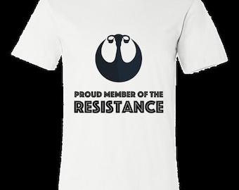 Proud Member of the Resistance Mens T-shirt, Anti-Trump, Fallopian Tubes, Feminism, Hillary Clinton, Drumpf