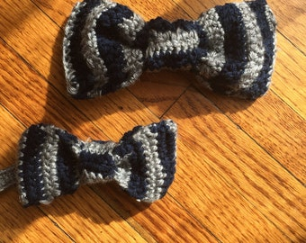 Crochet now tie