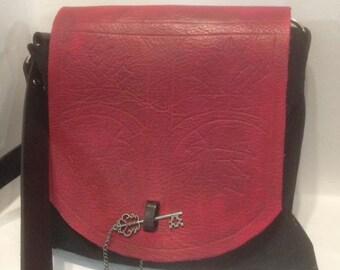 The Maple Leaf leather purse