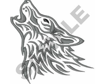 Wolf - Embroidery Design