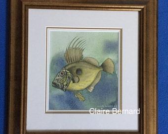 Original watercolour painting - John Dorey - fine art