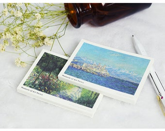 Mini Note Paper Set | water Lily | Claude Monet | passion