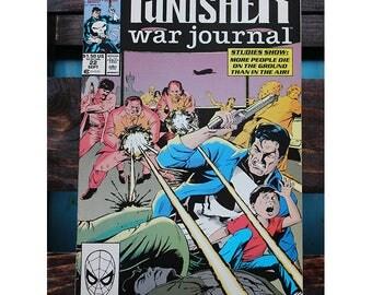 The Punisher War Journal 22 1988