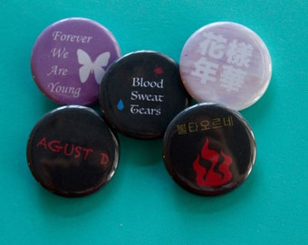 BTS Quotes 1.25 in Buttons