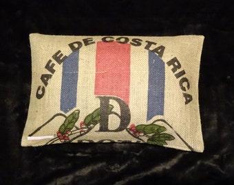 """Pillowcase original coffee bag cushion """"Costa Rica"""", 60 x 40 cm"""