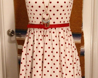 Lindy Bob vintage inspired polka dot dress