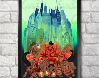 Akira Poster Print A3+ 13 x 19 in - 33 x 48 cm  Buy 2 get 1 FREE