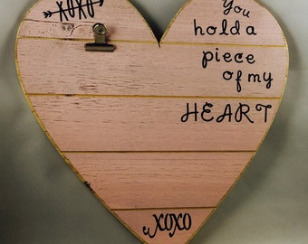 Adorable Pink Heart Frame