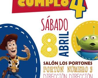 Toy Story Birthday kit