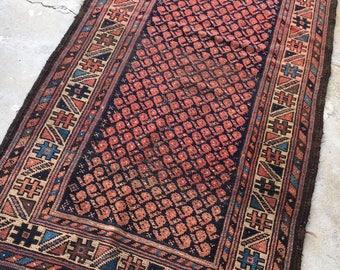 "2'6"" x 4'10"" Antique Persian Baluch Rug"