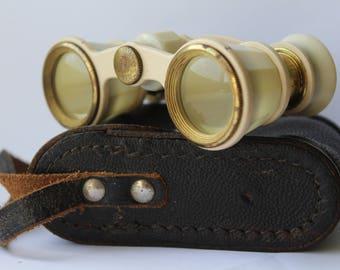 Soviet theatre binoculars, Vintage theatre glasses, Vintage Opera Binoculars , Soviet Opera, Vintage binoculars , antique binoculars