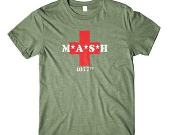 MASH Vintage T-Shirt 70's 80's TV Retro Tee