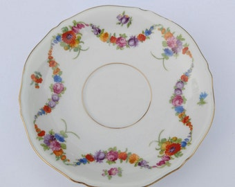 China Epiag Small Teacup Saucer Plate Floral