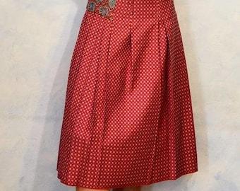 Hand made silk skirt