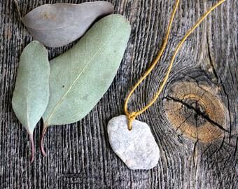 Hag stone necklace, Holey stones, Beach stones, Sea jewelry, Protection stone, Faerie stone, Talisman, Stone pendant, Natural jewelry