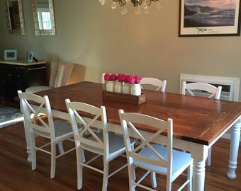 The Rustic Home Farmhouse Dining Table