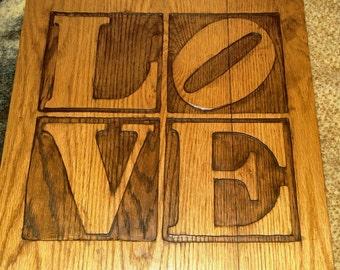 Home Decor wood sign