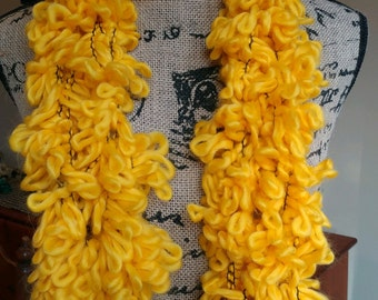 Mellow Yellow Fashion Scarf/Spring Scarf/Summer Scarf/Yellow Scarf