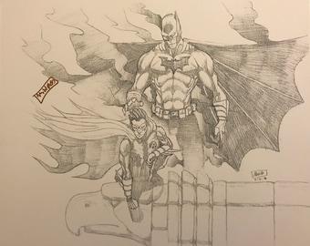 Batman and Robin PRINT