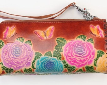 Leather-gift-portmone-gift for her-leather accessory