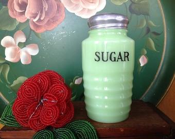Vintage Jadeite Sugar Shaker