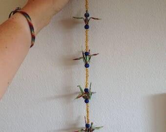 Paper Crane Mobile