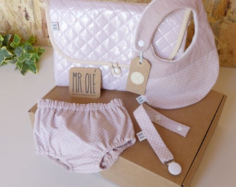 LAYETTE  - Baby Shower Welcome Basket, Baby Gift, Newborn Gift