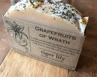 Grapefruits of Wrath Cold Process Soap