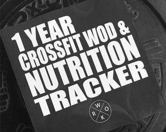 1 Year CrossFit WOD and Nutrition Tracker.