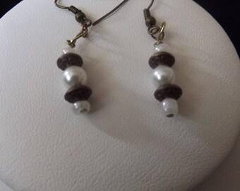 Pearl Bead Drop Earring