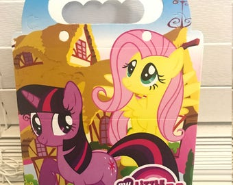 My Little Pony Treat Loot Boxes 10 Count---Party Favors Supplies